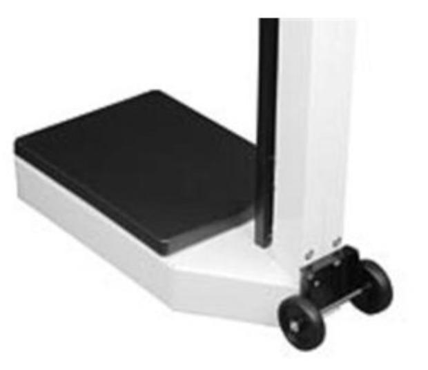 Ruedas de escala 3PWHL Detecto para balanza de barra de equilibrio Detecto